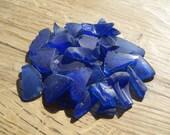 Bulk Sea Glass - Cobalt Blue - DIY Beach Wedding Supplies - 8-15