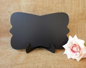 Set of 2 - Wedding Chalkboard Sign for Buffet Table Wedding Decoration , Save the Date Sign
