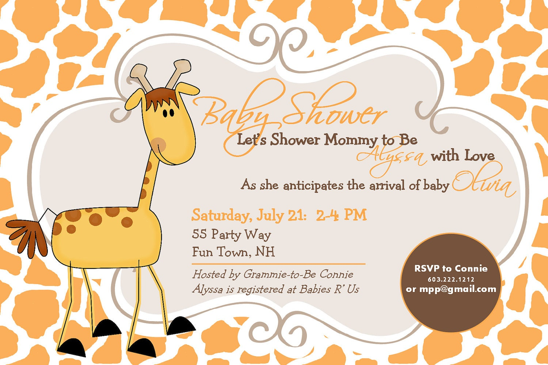Elephant Baby Shower Invite was beautiful invitations example