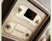 Airplane Channel and Volume Control 1, Airline Decor, Aviation, 10x10 Photograph, Aircraft Symbol, Airplane Interior