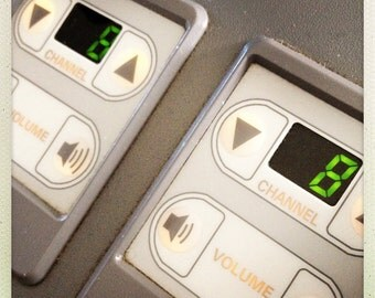 Airplane Channel and Volume Control 2, Airline Decor, Aviation, 10x10 Photograph, Aircraft Symbol, Airplane Interior