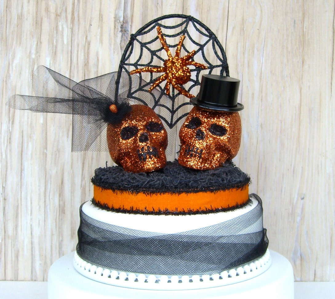 COUPON CODE SPARKLE30 Skull Cake Topper by sparkleandtwig ...