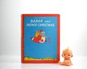 Babar and Father Christmas Vintage Book