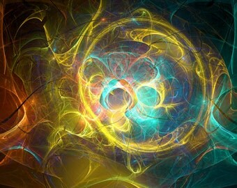 Fairy dance - fractal artwork download, interior decoration