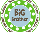 Boys Big Brother/Little Brother Design with Dots