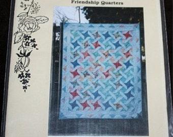 Friendship Quarters Quilt Pattern