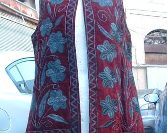 unisex vest never ware dead stock made in Marroco  circa 1970's
