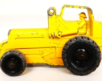 Vintage toy, industrial machine, weatherill hydraulic,  no 24,  made in England, Lesney, Matchbox, 1950s