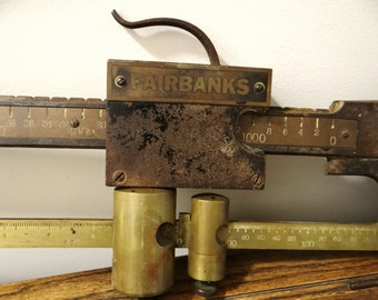 antique Fairbanks Scale, Beam scale, truck scale, 8000