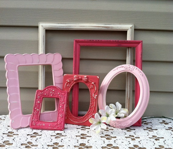 Sweet Pink Open Frame Collection / Girls Room / Country French