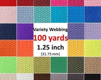 100 yards cotton webbing wholesale