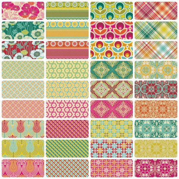 Notting Hill by Joel Dewberry - Fat Quarter Bundle - Entire Collection
