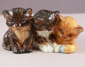 Royal Worcester kitten figurine, bone china
