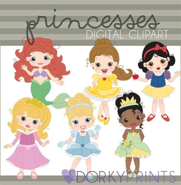 Princess Clip Art Personal