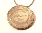 Old Jordainan Coin Necklace