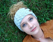 Instant Download - CROCHET HEADBAND PATTERN Jane's Tangled Headwrap