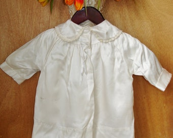 Baby Christening Outfit Vintage 3 pieces 1940s or 50s Satin