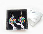 Colorful Lollipop Earrings