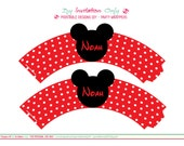 Mickey's Themed Party . Printable Wrappers