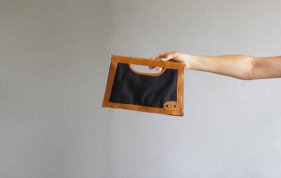 small canvas handbag