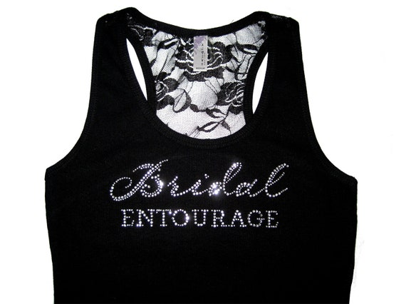 Bridal Entourage Tank Top. Bridesmaid Shirts. Bridesmiad Gift. Will You Be My Bridesmaid. Bridesmaid Tank Top. Bride's Entourage. Bride