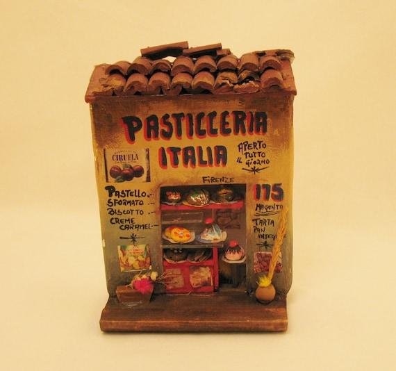 Pasticceria Italia Market Miniature Scene