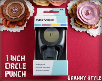 Paper Punch - 1 Inch Circle Paper Punch by Paper Shapers