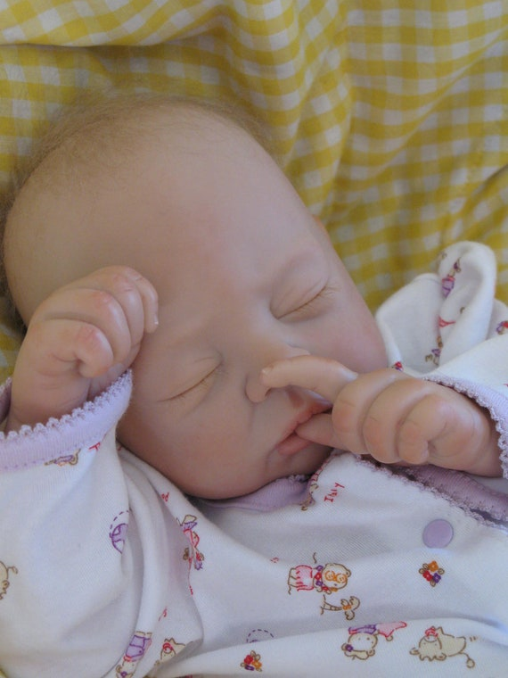 Reborn baby girl, Cozy sculpt by by Linda K. Smith, now baby Jennifer, ready to come home