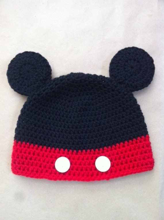 Mouse Crochet Hat RESERVED for Jessica
