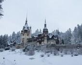 Beautiful Castle  - Vintage Photograph  - Fine Art Photography, Photographic Art