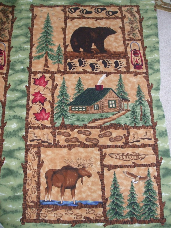 Items Similar To Woods Wilderness100 Cotton Flannel