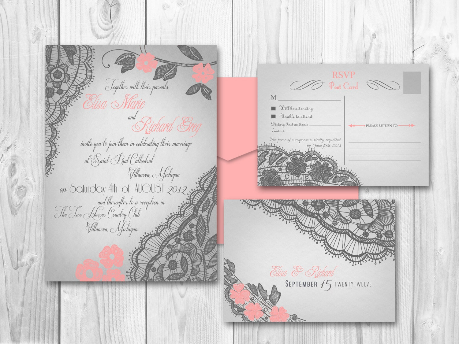 Lucrative image with etsy wedding invitations printable