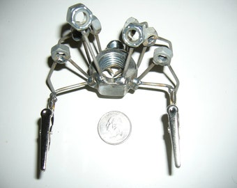 Crab Metal Sculpture