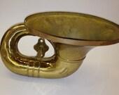 Antique Nonpareil Brass Car Horn