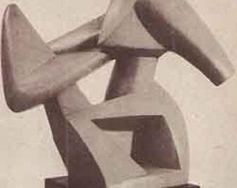 1941 Art Today MID CENTURY modern design book Faulkner