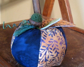 one apple, whimsy, rustic, cottage chic, needle felted acorn