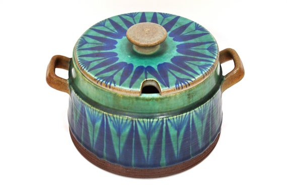RESERVED Thomas Toft Denmark TUNDRA Art Pottery Tureen Danish Modern