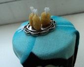 Miniatures beewax candle set