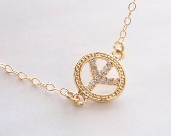 Golden Peace 14K Gold filled chain-simple everyday jewelry