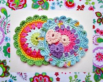 Colorful Medallion Crochet Pattern