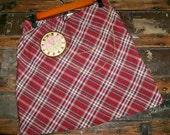 Love & Romance Clock Mini Skirt