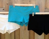 Organic Cotton Yoga Beach Shorts / Yoga Shorts / Kilt Shorts / Beach Shorts