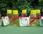 Wildflower Honey Bears (6) - Raw & Unfiltered