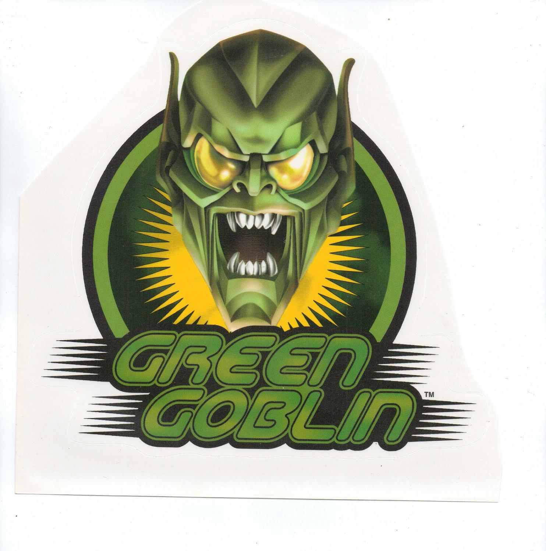 Green Goblin Wall Sticker Room Decor Building Decals
