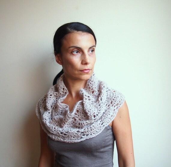 Crochet pattern lacy capelet shrug shawl bride wedding ...