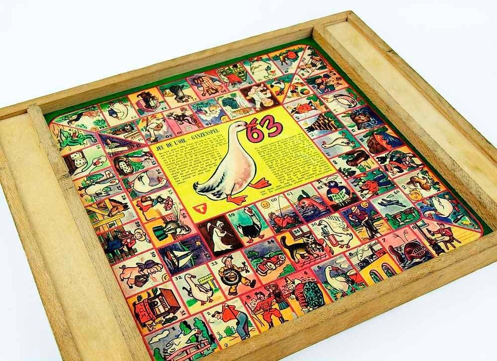 60s Board Games Vintage Board Games Goose