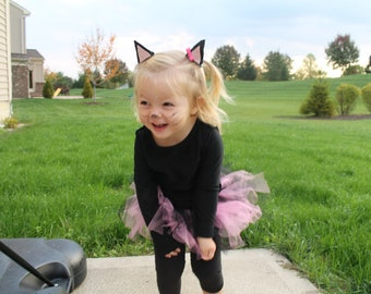 Toddler and Infant Cat Costume- Toddler Costume- Infant Halloween Costume- Newborn Costume- Girls Costume- Hello Kitty
