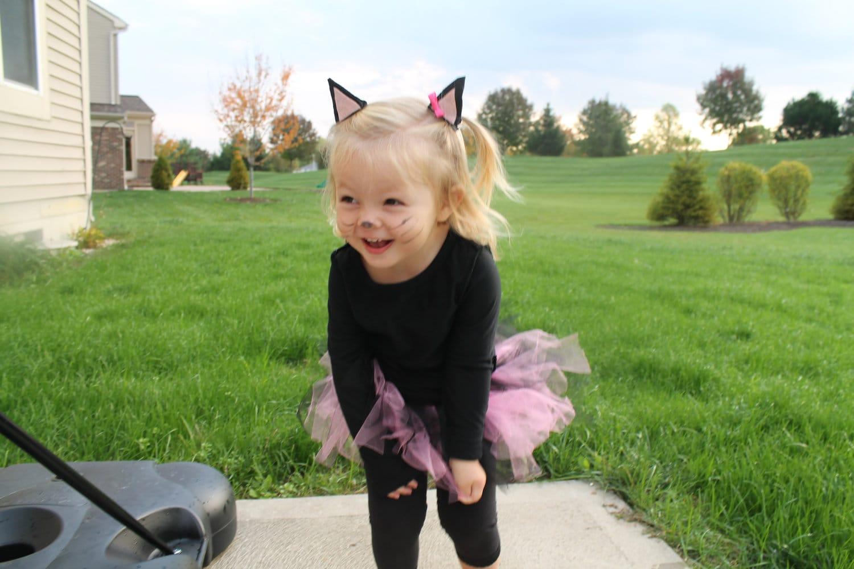 Kitty Cat Costume For Toddler Girl
