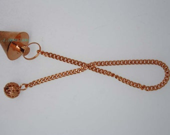 New Healing copper pendulum With copper Pagan ET A1/1