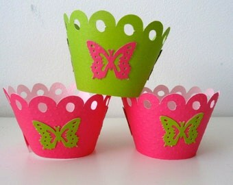 BUTTERFLY Cupcake wrapper